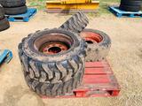 Bobcat 10-16.5 Skid Loader Tires and Rims