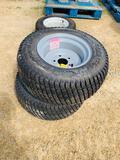 NEW - Carlisle 23 x 10.5-12 Tires and RIms
