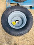 NEW - Carlisle 24 x 12.00-12 Tires and RIms