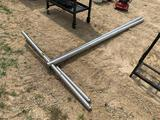 NEW - Stainless Steel Clothes Line Poles
