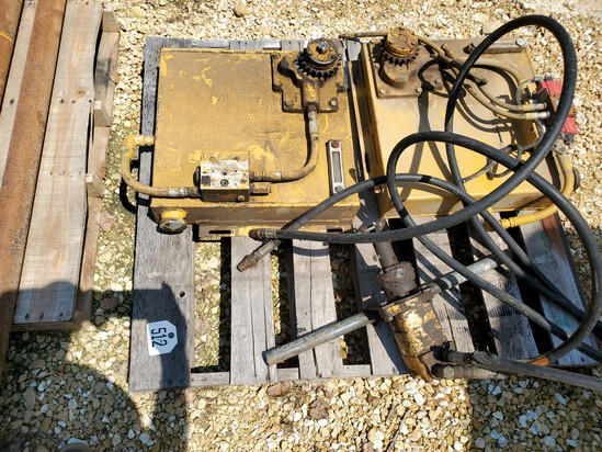 (2) Vermeer Auxillary Hydraulic Units