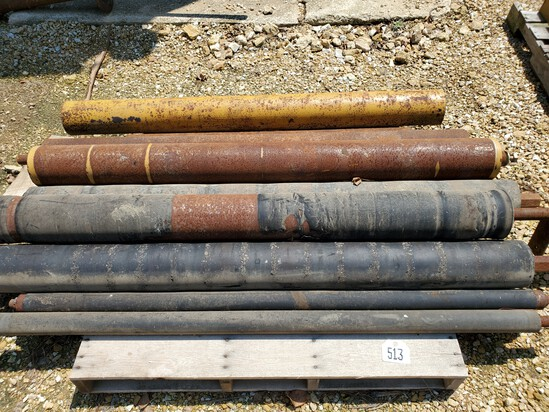Rubber Rolls and Shafts
