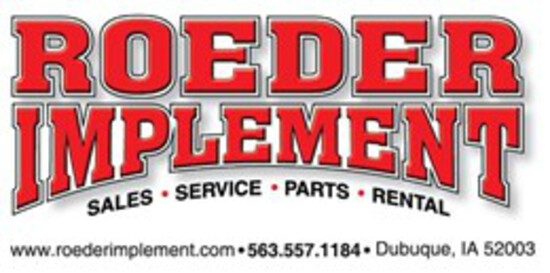 13th Annual Roeder Implement Inventory Reduction