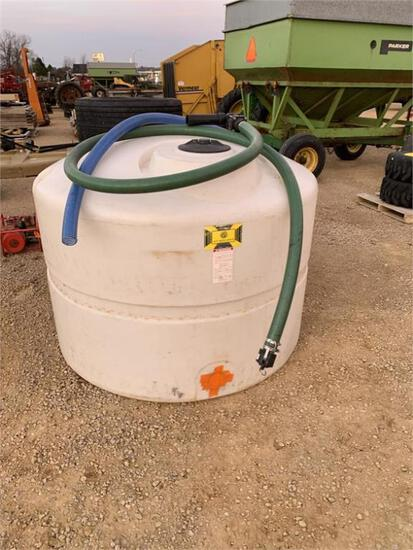 Ace Roto-Mold 625 Gallon Tank with 2 Hoses