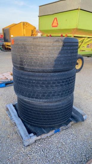 3 - Michelin 455/55R225 Tires