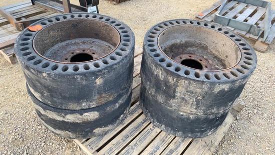 Pair of Air Boss Tires w/ 8 Bolt Rims