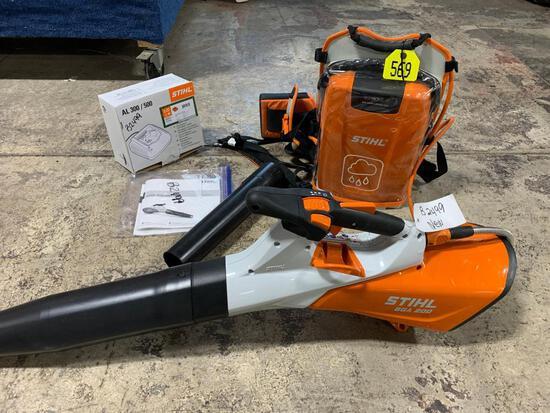 Stihl BGA 200 Electric Blower