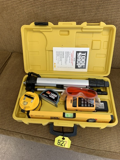 Tool Shop Laser Level Kit