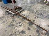 Antique Hay Trolly and Fork