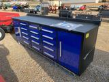 New 10'  - 15 Drawer Toolbox / Work Bench