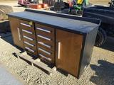 New 7' - 10 Drawer Toolbox / Work Bench
