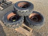 Bobcat 8 Bolt Rims - 10.16.5 Tire