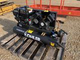 Kohler 6.5hp Gas Twin Stage Air Compressor