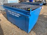 Trash Dumpster w/ Fork Pockets