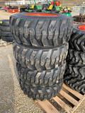 New - Super Traction 12-16.5 Skid Loader Tires
