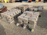 (4) Pallets of Retaining Wall Bricks