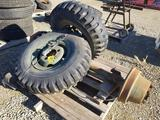 Axle Tires and Rims