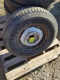 235/75R15 Tire and Rim