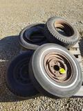 Pallet of Tires and Rims
