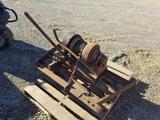 Winch for 3pt Tractor Hitch