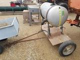 Stainless Towable Sprayer - FOR PARTS