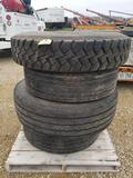 Assorted Truck Tires and Rims