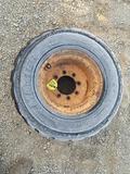 Case 33x15.5-16.5 Tire and Rim