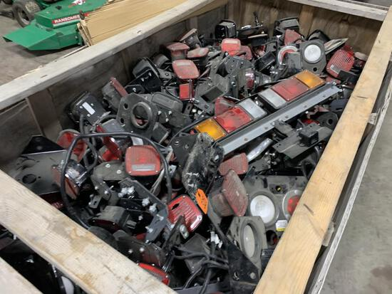 Pallet of New Take Off Truck Lights
