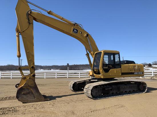 John Deere 790 ELC Excavator