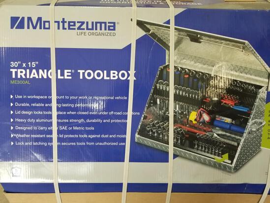 NEW MONTEZUMA TRIANGLE TOOL BOX