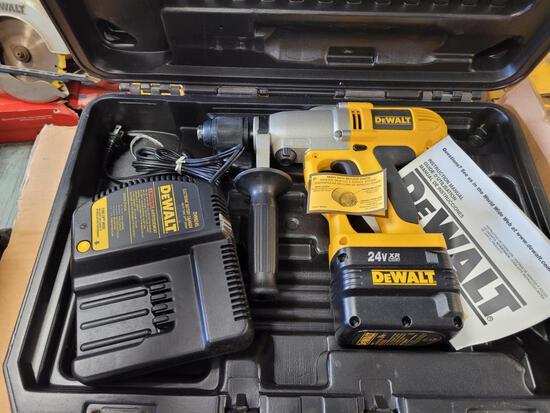 New Dewalt 24 Volt Hammer Drill