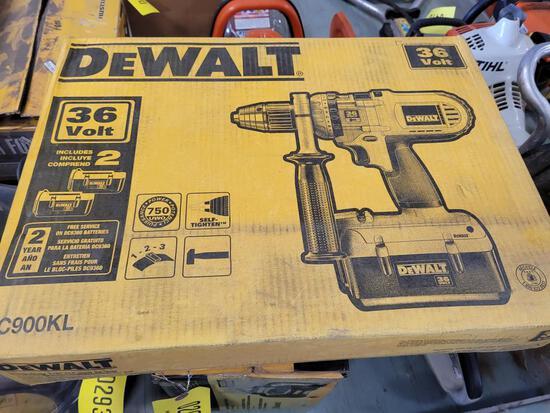 New Dewalt 36 Volt Hammer Drill