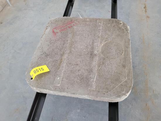 Cement AC Pad