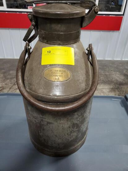 STANDARD OIL 5 GAL FUEL CAN