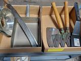 2) BOXES CORN KNIFE & CLIPPERS
