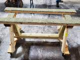 ROLLING SAW HORSE