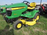 John Deere X324 4 Wheel Steer