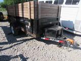 2012 P.J. Trailer Manufacturing D5101 Dump Trailer