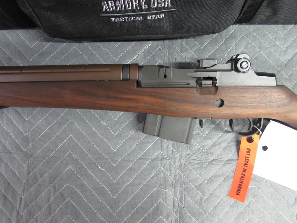 Lot: Springfield Armory M1A National Match   Proxibid Auctions