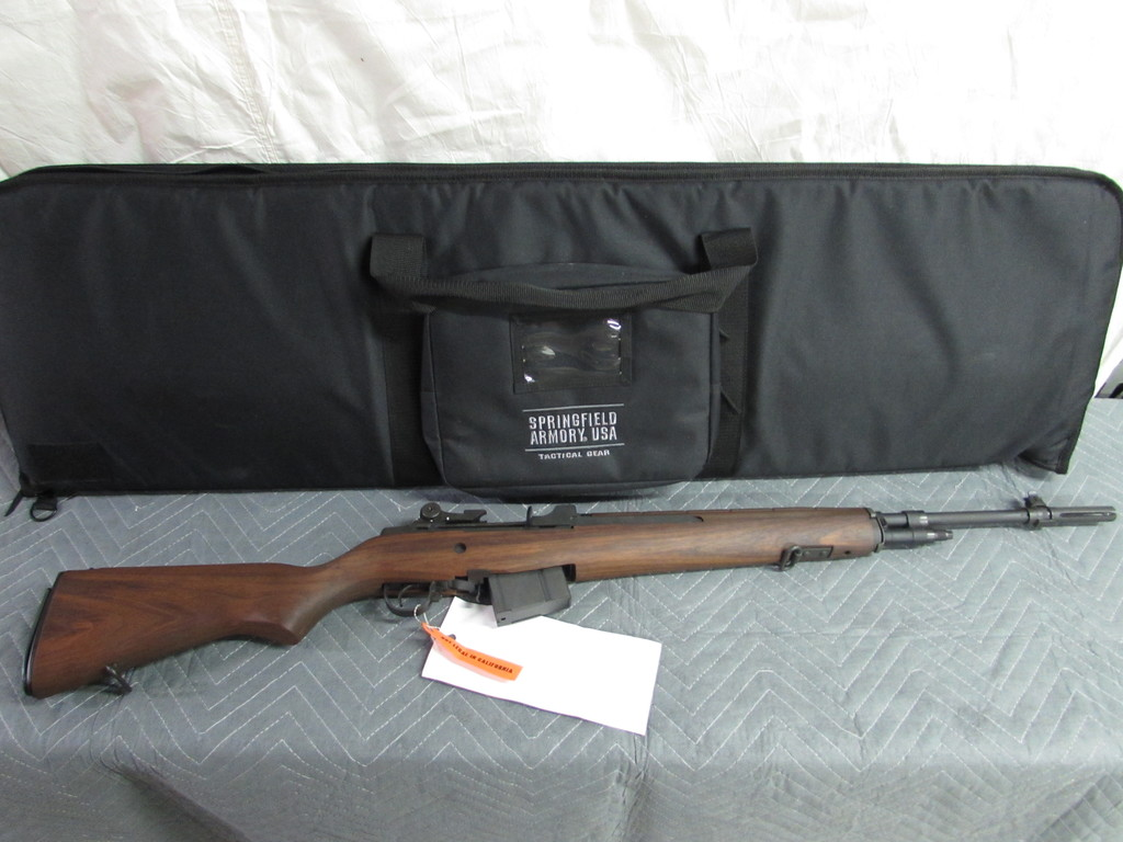 Lot: Springfield Armory M1A National Match | Proxibid Auctions