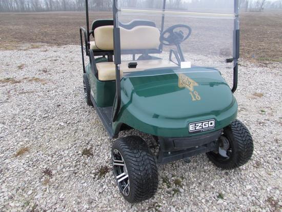E-Z-Go TXT 48 Electric Golf Cart