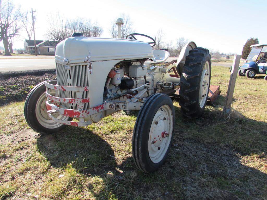 Ford 9N Tractor W/ Bush Hog