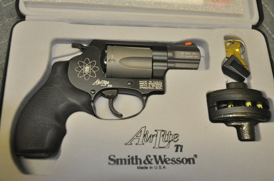 Smith & Wesson Model 337 PD AirLite Ti