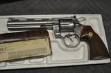 Colt Python .357 Factory Engraved