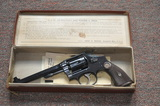 Smith & Wesson .38 M&P Target Model w/Original Maroon Box