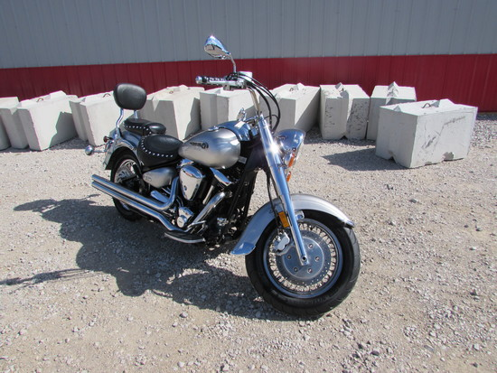 2003 Yamaha XV1600 Road Star Miles: 52,607