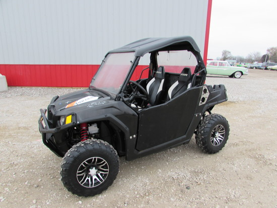 2013 Polaris Ranger RZR 570 Trail Hours: 423