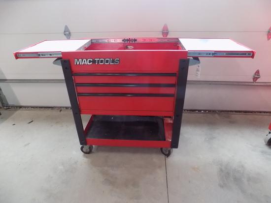 Mac Tools Roll around tool cart sliding top