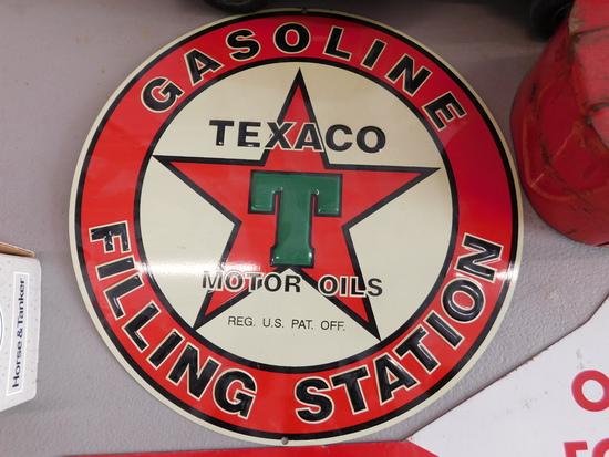 Texaco Filing Station Sign
