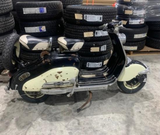 1955 Lambreeta Scooter Has Title